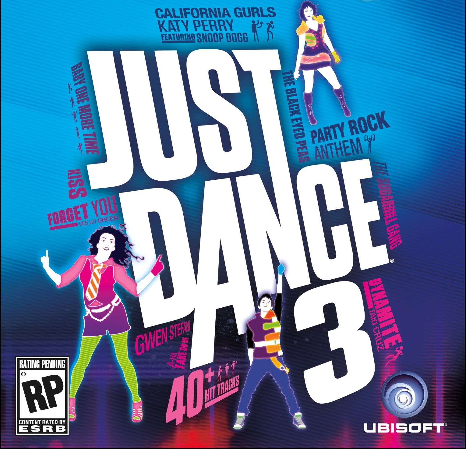 Just Dance 3 Song List