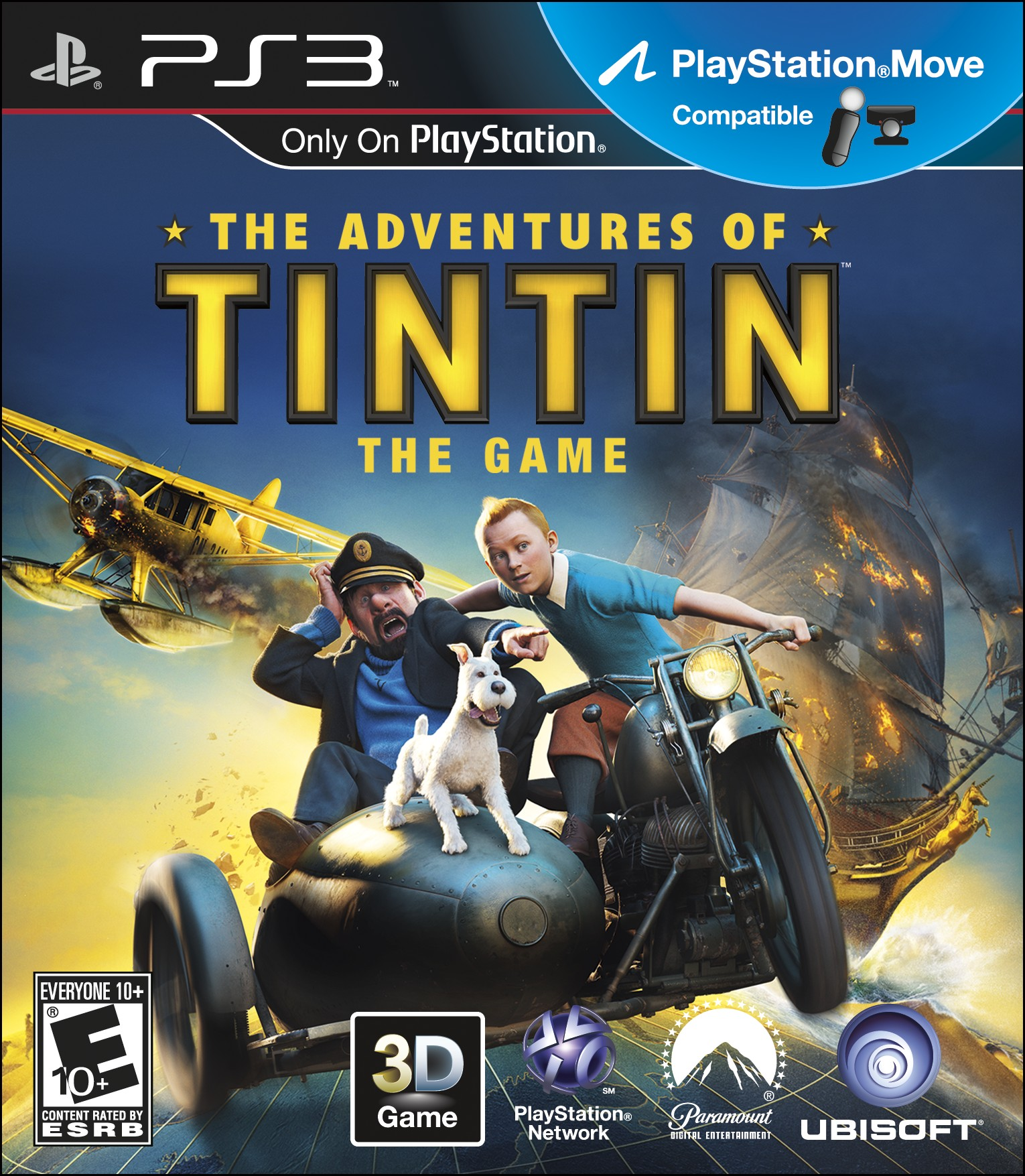 Games For Ps3 Only : Ubisoft releases tintin the game today