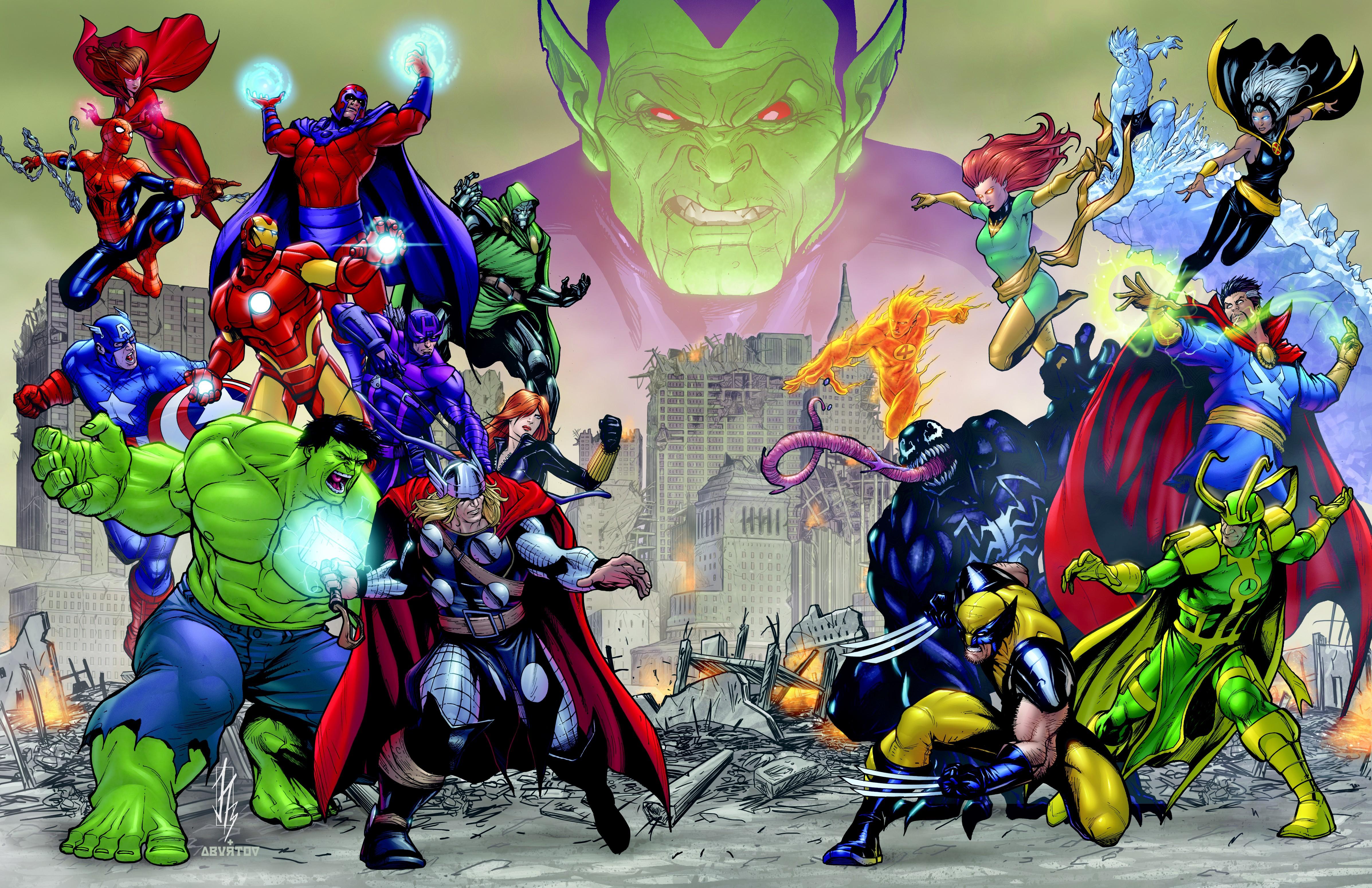Full Character Lineup Revealed for Marvel Avengers Battle for Earth