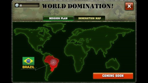 World Domination Map