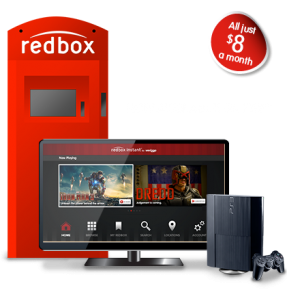 redbox coming to the ps3 today with the store update