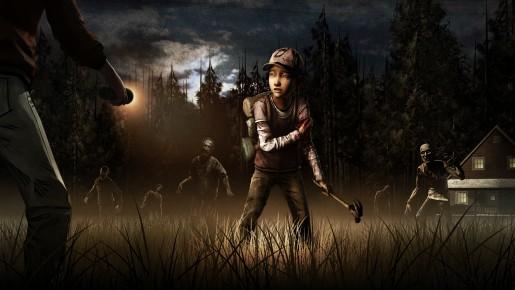 The Walking Dead Season Two Clementine Being Ambushed by Lurkers