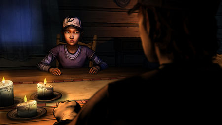 The Walking Dead Season Two Clementine in Conversation