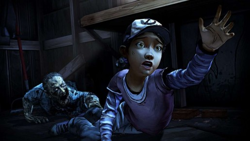 The Walking Dead Season Two Clementine in Danger