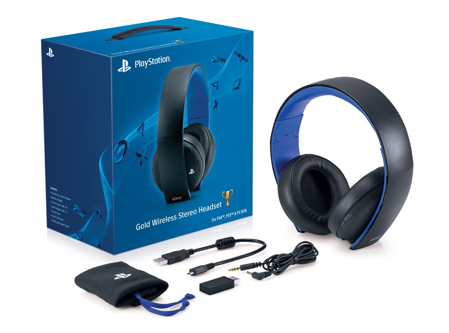 review playstation gold wireless stereo headset. Black Bedroom Furniture Sets. Home Design Ideas