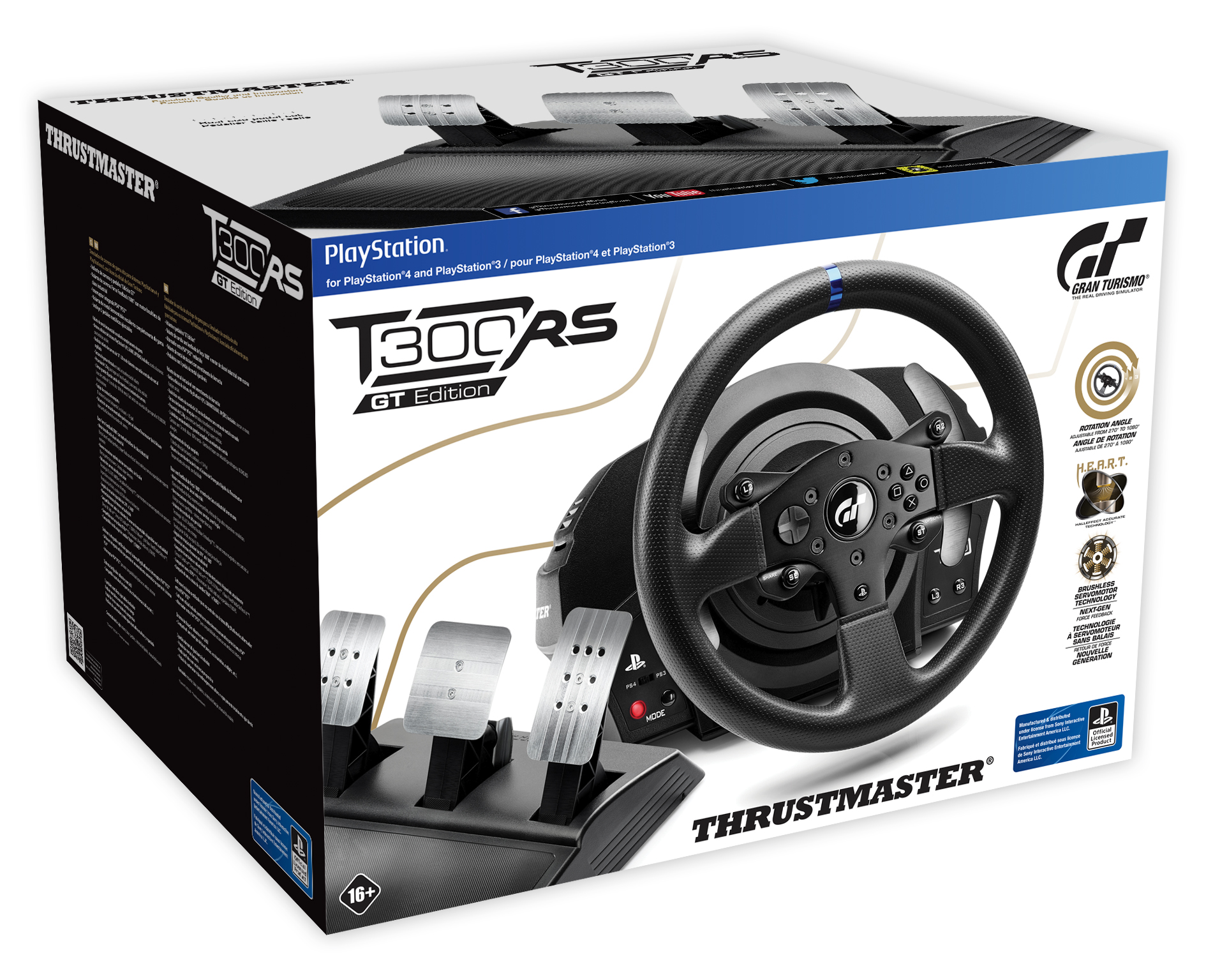 thrustmaster unveils new t300rs gt edition racing wheel for ps4 ps3 terminal gamer gaming is. Black Bedroom Furniture Sets. Home Design Ideas