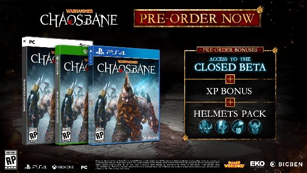 Pre-order Warhammer: Chaosbane for Beta Access - Terminal Gamer