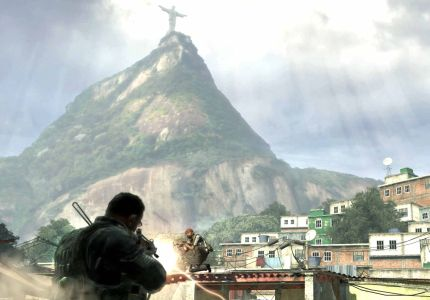The gunfight in the Favela is brutal because of the close quarters and an inability to peer around corners.
