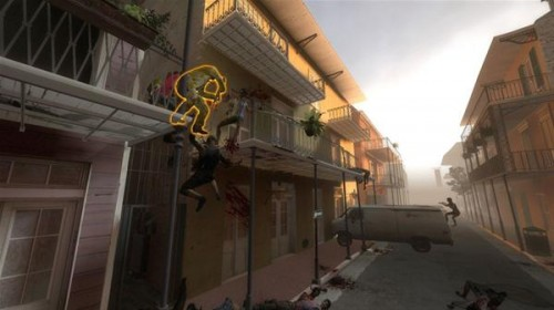 Left4Dead 2 features a huge array of settings, including the French Quarter of New Orleans