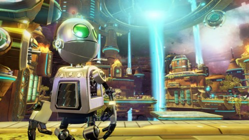 Ratchet & Clank Future: A Crack in Time is beautiful, and features puzzles that will make you proud to be able to help your kids out