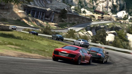 Forza 3 features gorgeous cars, gorgeous courses, and is easy to play if you're a beginner, and difficult for those seasoned racing vets