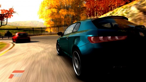 "Forza 3's cars are beautifully tuned, and the ""Free Race"" option allows you to play anytime, with any car you want"