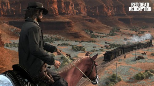 Red Dead Redemption, under development by Rockstar San Diego, is the first game on our list