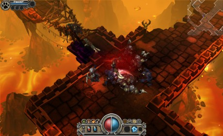Torchlight's worlds are vibrant, and can be played on netbooks and well as desktops and laptops