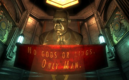 Gaming is maturing as technology develops the ability to tell deep, emotional storylines. Bioshock featured an engrossing world that was heavily based upon Ayn Rand's theory of Objectivism.