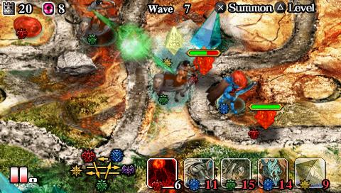 Tower Defense Using Card Battles