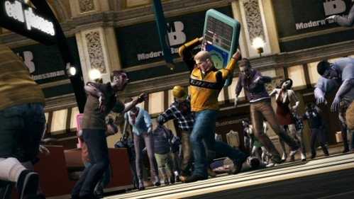 Dead Rising 2, featuring more zombie-killing goodness, sits pretty at number nine on our list
