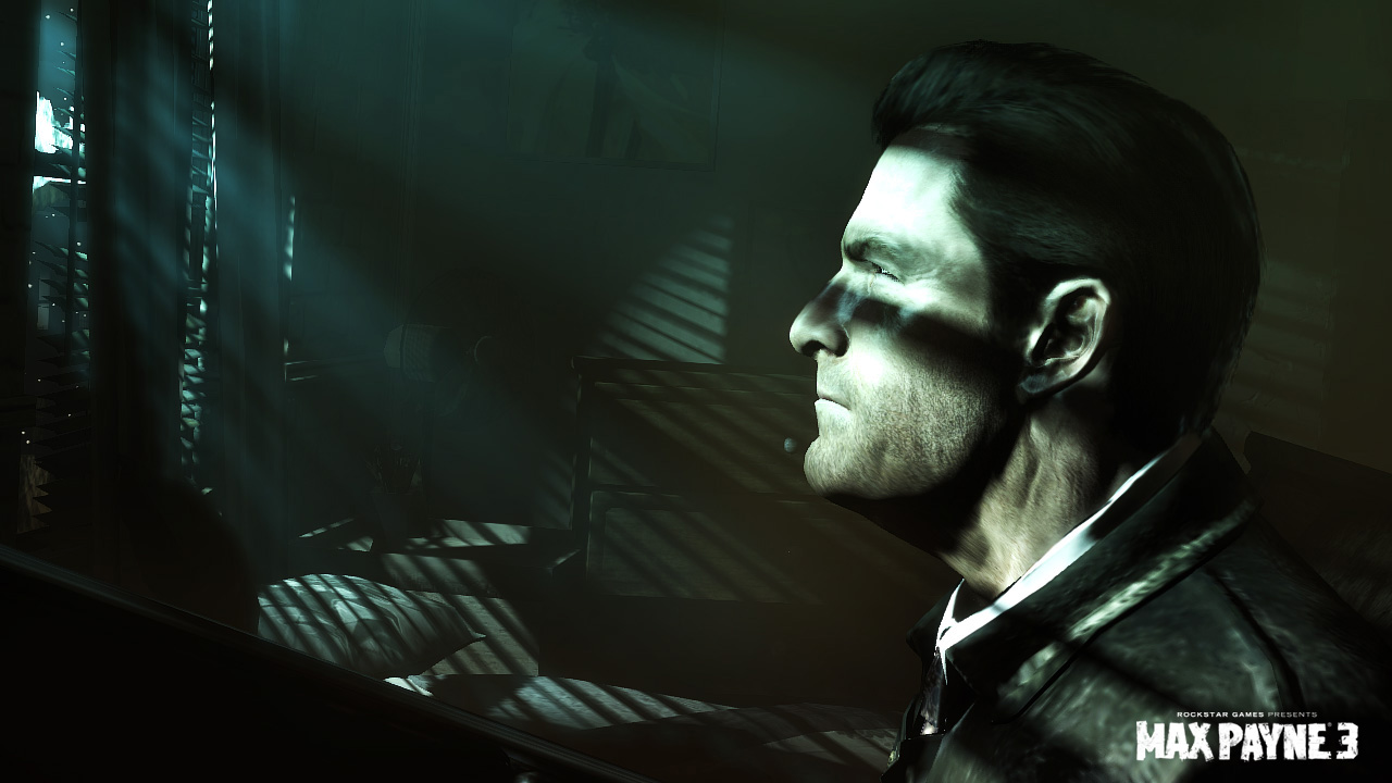 New Screen Shots For Max Payne 3 Show His Thoughtful Side