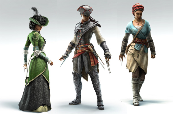 Assassins-Creed-III-Liberation-Aveline-All-Disguises